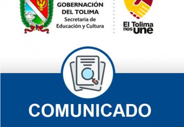 Cabezote nuevo portal sed COMUNICADO